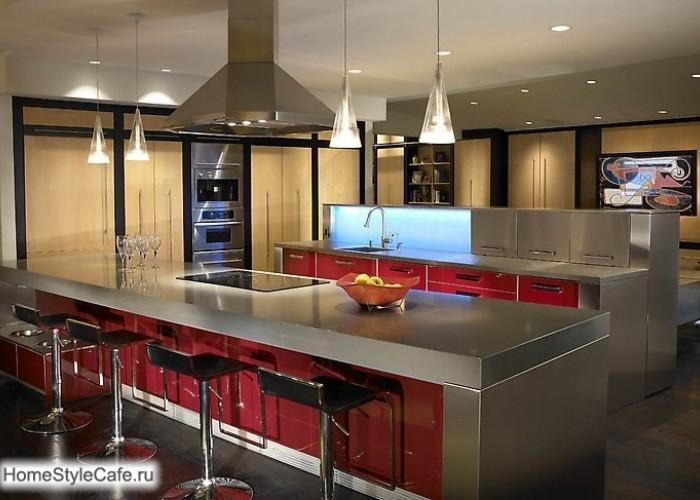 Самые современные интерьеры кухни